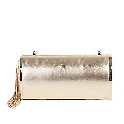 Parfois - Gold party clutch