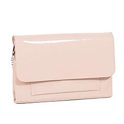 Parfois - Pale pink jobin party clutch bag