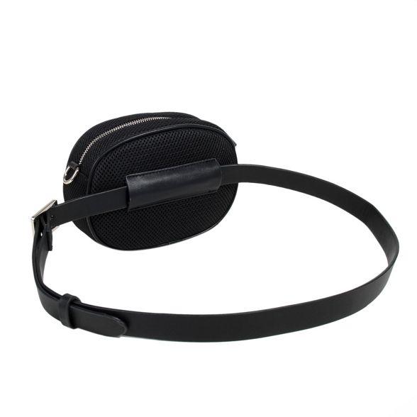oval body bag cross Black belt Parfois 5YZqOgFwxW
