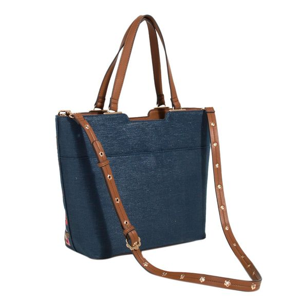 Parfois shopper bag flora flora Parfois Navy Navy flora Parfois shopper Parfois bag Navy bag shopper AqxwO6vO