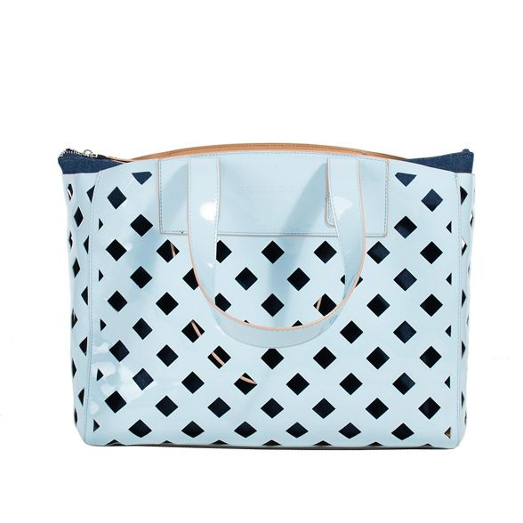blue bag shopper riscada Parfois Light 51qtR