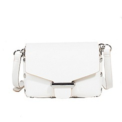 Parfois - White riscada cross bag