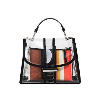 Parfois   Black Riscada Tote Bag by Parfois