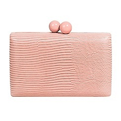 Parfois - Light pink lilo party clutch
