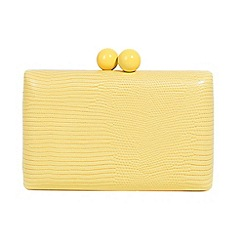 Parfois - Yellow lilo party clutch