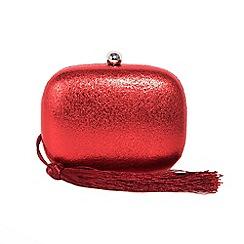 Parfois - Red savon party clutch