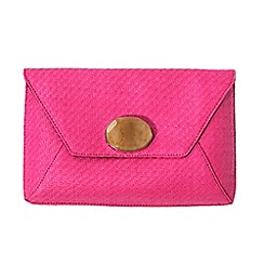 Parfois - Pink roche party clutch