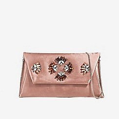 Parfois - Mid rose stones party clutch