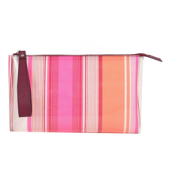 basic cosmetic purse reptil Parfois Pink xvz7w