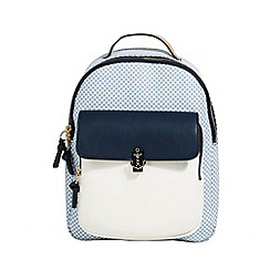 Parfois - Navy bellagio backpack