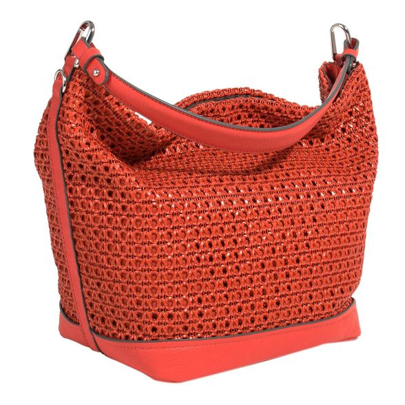 handbag city Red brick Red city brick Parfois handbag Parfois 1fqdwFtcw