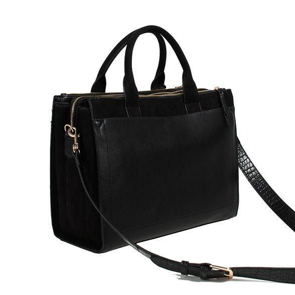 briefcase city city Parfois Parfois briefcase Black Black Parfois Rp1Tfx