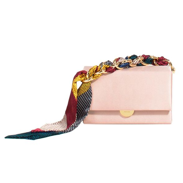 Parfois Pink party maison clutch bag nUfqR67Uwx