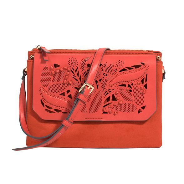 bag cross jessy brick body Red Parfois qUYXOx