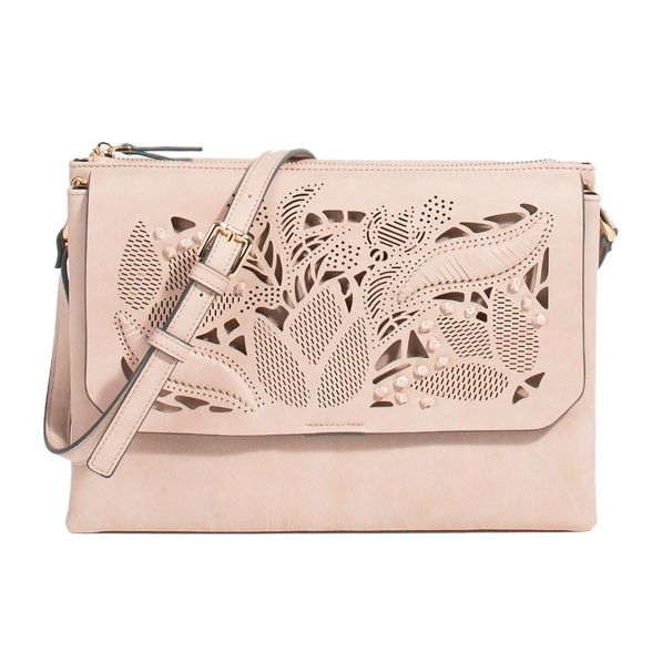 jessy bag pink cross Parfois Light body XqPCYxEw