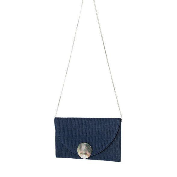 Navy party Parfois clutch shell bag mini gqT0fP