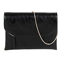 Parfois - Black baloo party clutch bag