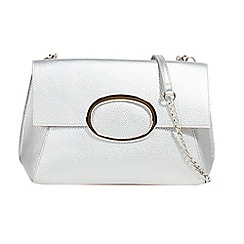 Parfois - Silver juanita cross body bag