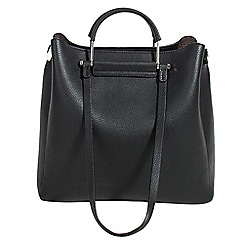 Parfois - Black lyra shopper bag