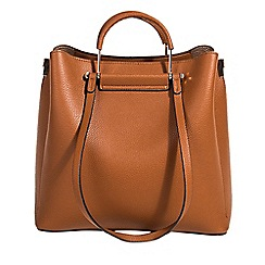 Parfois - Camel lyra shopper bag