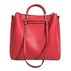Parfois - Red lyra shopper bag
