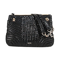 Parfois - Black dark shadow cross body bag