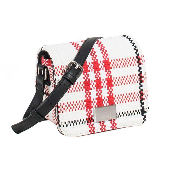 Parfois bag cross new checks White HaqSwCT