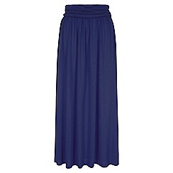 HotSquash - Navy Maxi Skirt with CoolFresh