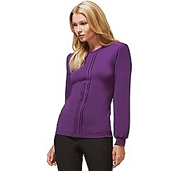 d16d9835bd4273 HotSquash - Purple thermal HotSquash top