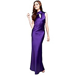 HotSquash - Long dress with cowl back and front
