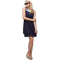HotSquash - Navy Double Layered Dress in CoolFresh fabric