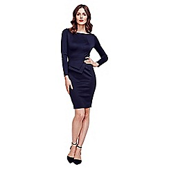HotSquash - Black Fitzrovia Ponte Dress
