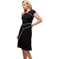 HotSquash - Black smart summer dress in cool fresh fabric