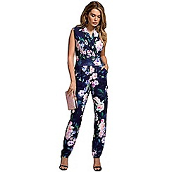 HotSquash - Flower garden print sleeveless jumpsuit