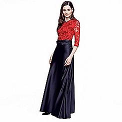 HotSquash - Black silky maxi skirt