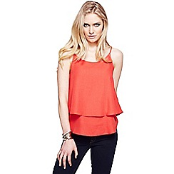 HotSquash - Orange double layered camisole top