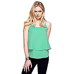 HotSquash - Mint double layered camisole top