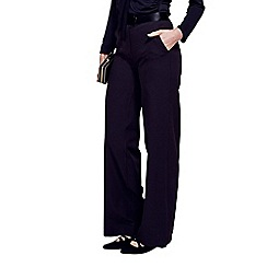 HotSquash - Black Windsor Wideleg Trouser