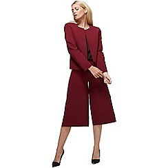 HotSquash - Burgundy easy care culottes in clever fabric