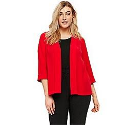 Evans - Red stud soft jacket