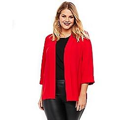 Evans - Red soft panel jacket