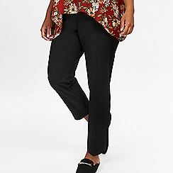 Evans - Black tapered trousers