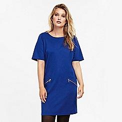Evans - Blue tunic dress