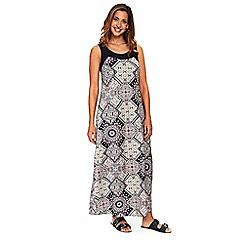 Evans - Paisley maxi dress
