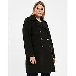 Evans - Black military coat