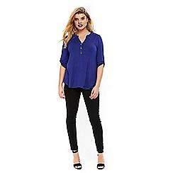 Evans - Cobalt jersey shirt