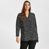 7f2cd660b2127f Dorothy Perkins Khaki leopard print batwing sleeve top