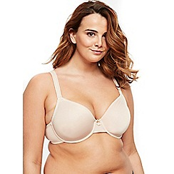 Evans - 2 pack rosie nude and white t-shirt bra