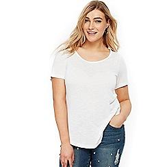Evans - White short sleeve t-shirt
