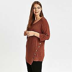 Evans - Rust button side top